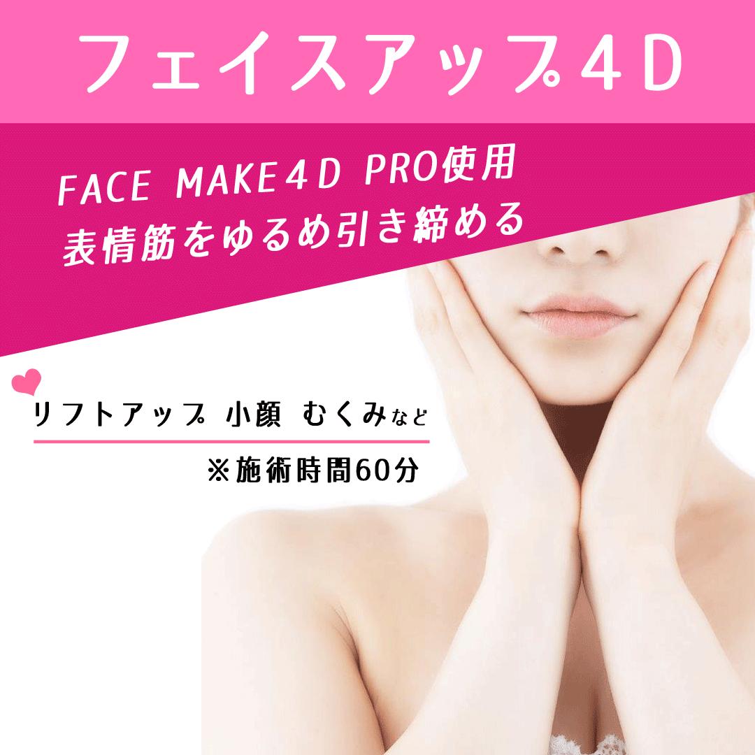 フェイスアップ4D